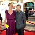 Jenna Elfman et Bodhi Elfman lors de l'avant-première du film Il n'est jamais trop tard à Los Angeles le 27 juin 2011