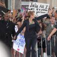 Julia Roberts lors de l'avant-première du film Il n'est jamais trop tard à Los Angeles le 27 juin 2011