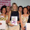 La princesse Maxima était la vedette du jubilé du programme Importante visant à promouvoir la place des femmes dans la société, à La Haye, le 28 juin 2011.