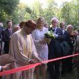 Maxima des Pays-Bas assistait à la réouverture du musée-parc Orientalis, le 24 juin 2011.