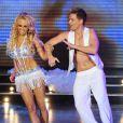 Pamela Anderson, sur le plateau du  Dancing with the stars  argentin, jeudi 30 juin 2011.
