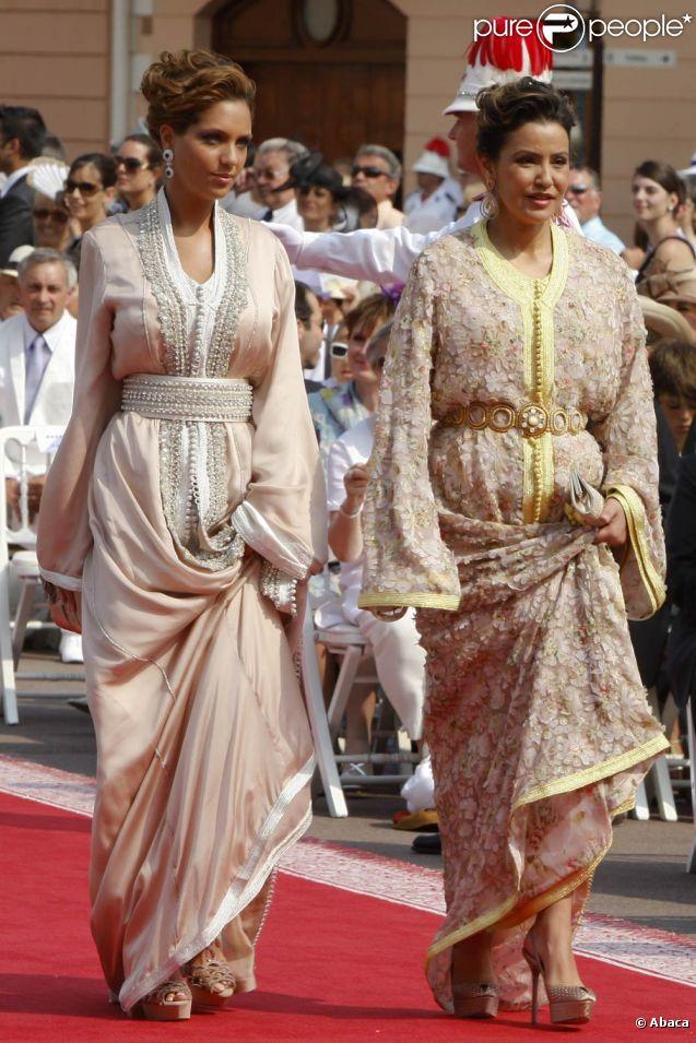 Mariage d\u0027Albert et Charlene Lalla Soukaina, princesse du Maroc, éblouit  Monaco