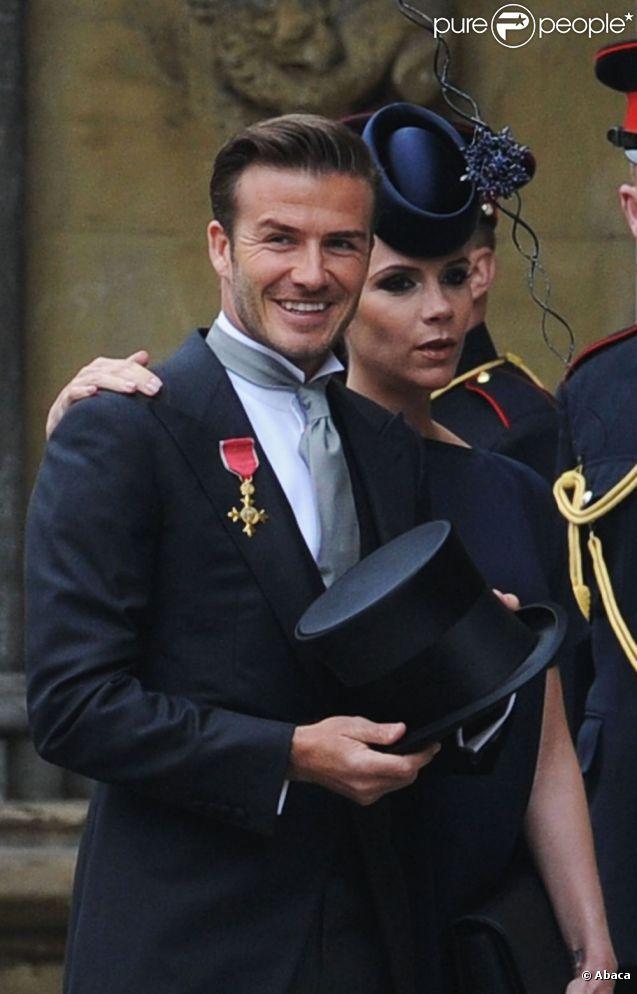 David Beckham vient de faire une petite blague à son épouse : il a posté une photo de Victoria enceinte et en bikini alors qu'elle est très pudique ! Le jour du mariage de William et Kate à Londres