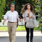 Arnold Schwarzenegger déjeune avec sa fille aînée et revoit son fils illégitime