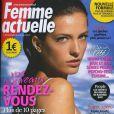 Couverture du magazine Femme Actuelle en kiosques lundi 10 juillet 2011.