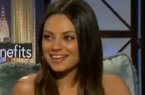 Mila Kunis : Courtisée par un soldat américain devant le monde entier