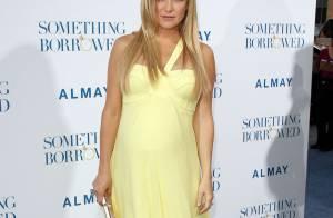 Kate Hudson : Première apparition de la jeune maman depuis bébé