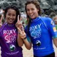 Le Roxy Charity Surf, samedi 16 juillet 2011, a été l'un des moments phares du ROXY PRO Biarritz 2011. Des peoples comme Amélie Mauresmo, Guy Forget et Bixente Lizarazu ont surfé en relais avec des championnes comme Lisa Andersen et Stéphanie Gilmore pour l'association Surf and Hope de Lee-Ann Curren.