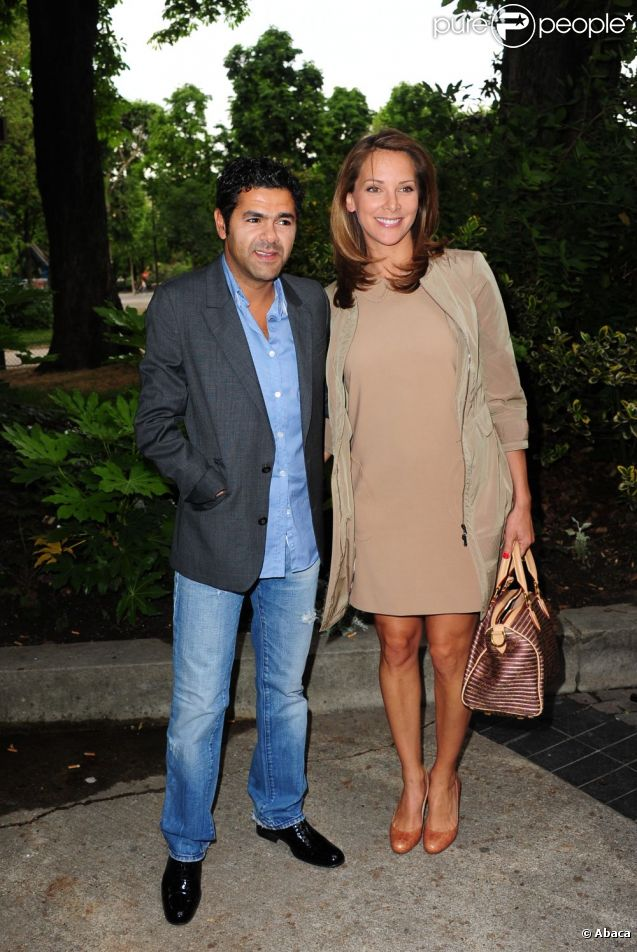Jamel Debbouze et son épouse Mélissa Theuriau en mai 2011.