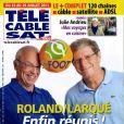 Couverture du magazine Télé Câble Sat