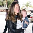 Rebecca Gayheart et son adorable fille Billie Beatrice Dane en juin 2011 à Los Angeles