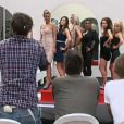 Les filles défilent pour Miss Secret Story 5 dans Secret Story 5