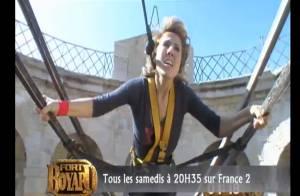 Fort Boyard : Natacha Amal lancée dans le vide et Amaury Vassili aux égouts !
