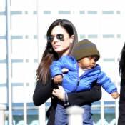 Sandra Bullock : Son fils Louis a tout d'un bébé star avec son look au top