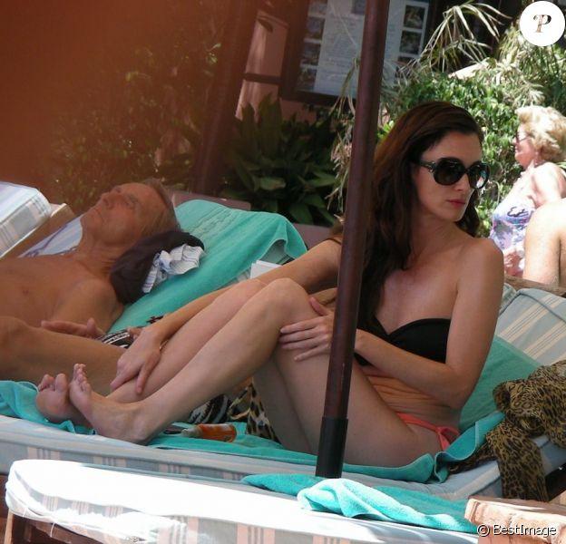 L'actrice Paz Vega se détend à Marbella, le samedi 30 juillet 2011.