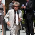 Al Pacino sur le tournage du biopic de Phil Spector le 2 août 2011 à Long Island