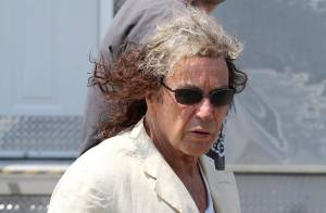 Al Pacino : Coupe de cheveux bicolore et improbable, mais que lui arrive-t-il ?