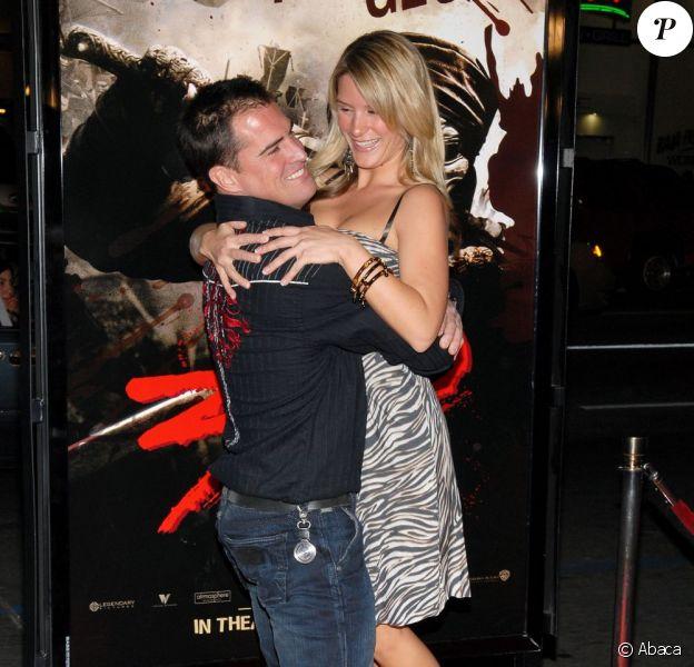 George Eads et sa femme Monika Casey ! Ici à Los Angeles en 2007 !