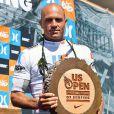 Kelly Slater, 39 ans, a encore fait du grand art dimanche 7 août 2011 à  Huntington Beach, en Californie, pour remporter l'US Open de surf, plus  gros Prime Event de la saison. En route pour un onzième titre de champion du monde.