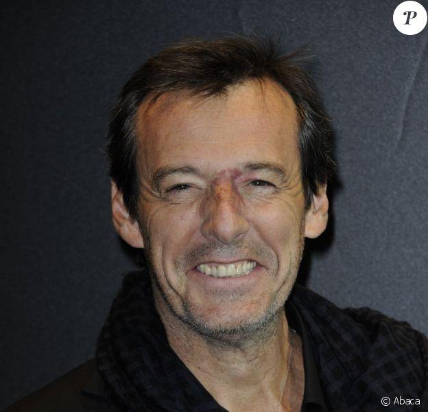 Jean-Luc Reichmann a un projet de comédie avec le grand Alain Delon pour TF1. Ici le 23 juin 2011 à Paris.