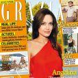 La plantureuse Angelina Jolie en couverture du Grazia NL de juillet 2011.