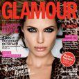 Angelina Jolie la joue féline pour Glamour Russia. Janvier 2011.