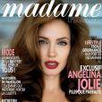 L'actrice Angelina Jolie en couverture du Madame Figaro du 14 août 2010.