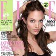 Angelina Jolie, en couverture du magazine Elle du 30 juillet 2010.