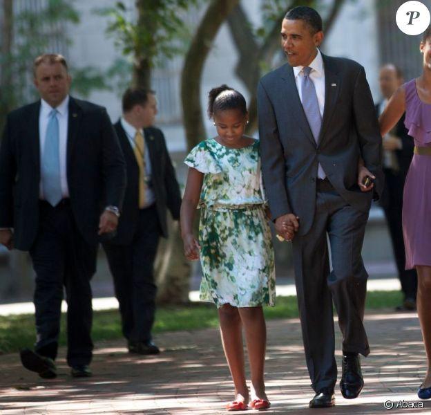 Barack Obama très protecteur pour ses filles Sasha et Malia