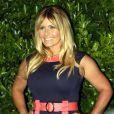Nicole Eggert pose lors d'une soirée-hommage à David Hasselhoff à Los Angeles en août 2010