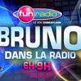Bruno Guillon et ses équipes se déshabillent pour promouvoir l'émission  Bruno dans la radio , qui arrive sur Fun Radio le lundi 22 août 2011.