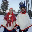 Février 2009 : visite à Kautokeino.   25 août 2001- 25 août 2011 : le prince héritier Haakon de Norvège et la princesse Mette-Marit doivent célébrer leurs noces d'étain : 10 années d'un mariage et d'un amour parfaitement sereins, après des débuts controversés...