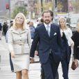 Fin octobre 2010, visite officielle à New York.   25 août 2001 - 25 août 2011 : 10 ans de mariage pour le prince héritier Haakon de Norvège et la princesse Mette-Marit...