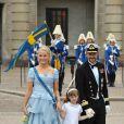 19 juin 2010, au mariage de Victoria et Daniel de Suède avec la princesse Ingrid Alexandra, filleule de Victoria.   25 août 2001 - 25 août 2011 : 10 ans de mariage pour le prince héritier Haakon de Norvège et la princesse Mette-Marit...