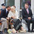 31 août 2010, visite à Setesdal valley.   25 août 2001 - 25 août 2011 : 10 ans de mariage pour le prince héritier Haakon de Norvège et la princesse Mette-Marit...