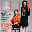 Catherine Deneuve et sa fille Chiara Mastroianni, pour le  Elle  du 13 mai 2011.