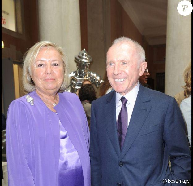 François Pinault et son épouse Maryvonne en juin 2011.