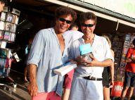 Igor et Grichka Bogdanoff : De vraies stars sur le port de Saint-Tropez