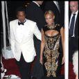 Beyoncé et Jay-Z à New York, en mai 2011.