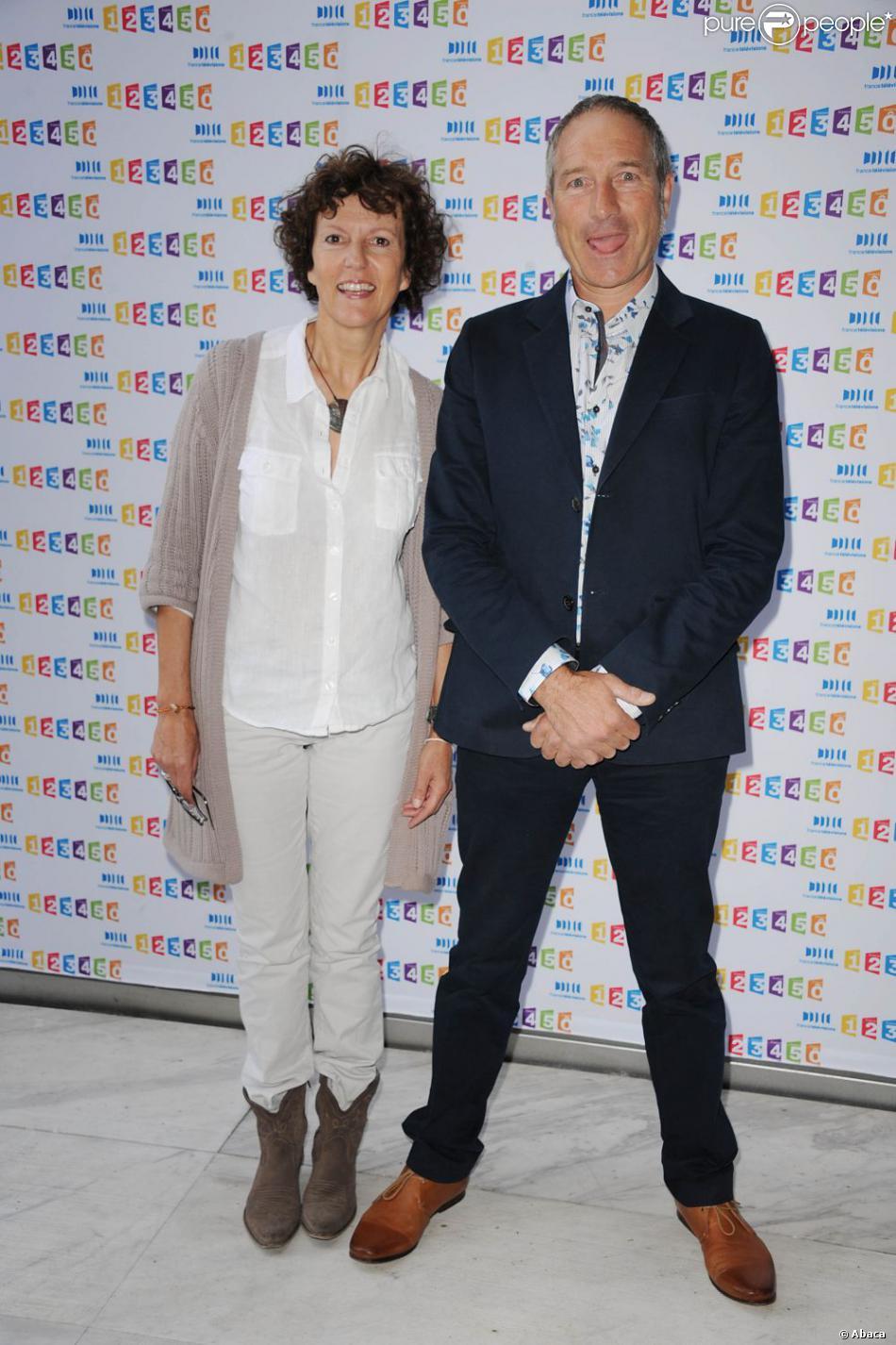 Noelle breham et stephane marie lors de la conf rence de presse annuelle de f - Noelle breham est elle marie ...