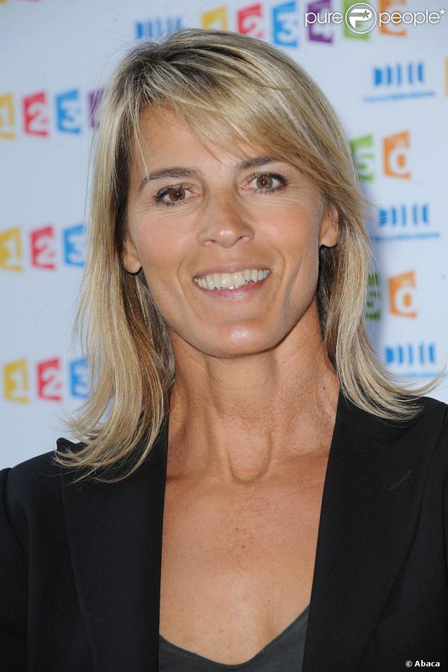Nathalie Simon lors de la conférence de presse annuelle de ...