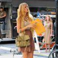Blake Lively sur le tournage de Gossip Girl le 1er septembre 2011 à New York
