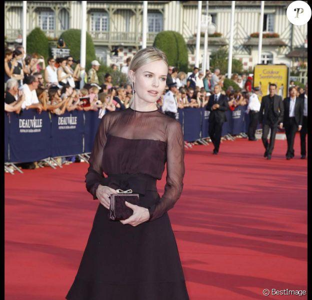 Kate Bosworth pour l'ouverture du 37e festival du film américain de Deauville, le 2 septembre 2011.