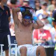 """""""Il aura fallu de nombreux changements de polos et 2h39 à Rafael Nadal pour s'imposer lors du troisième tour de l'US Open le dimanche 4 septembre 2011 face à David Nalbandian... """""""
