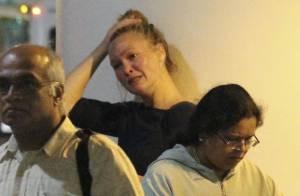 Julia Stiles : La pauvre actrice fond en larmes