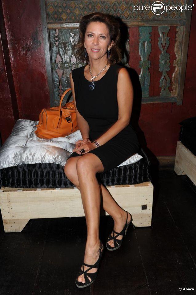 Corinne Touzet à Paris, en juin 2011.