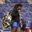 Serena Williams est reparti la tête basse après l'annulation de son quart de finale de l'US Open face à Anastasia Pavlyuchenkova le 7 septembre 2011