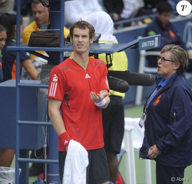 Andy Murray, très énervé, a poussé un véritable coup de gueule contre les organisateurs de l'US Open après avoir joué un bout de match sur un terrain glissant