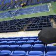 La pluie s'est invitée à l'US Open le 7 septembre 2011, entraînant l'annulation de tous les matches de la journée