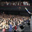 Charles Aznavour en concert à l'Olympia à Paris le 7 septembre 2011 à Paris